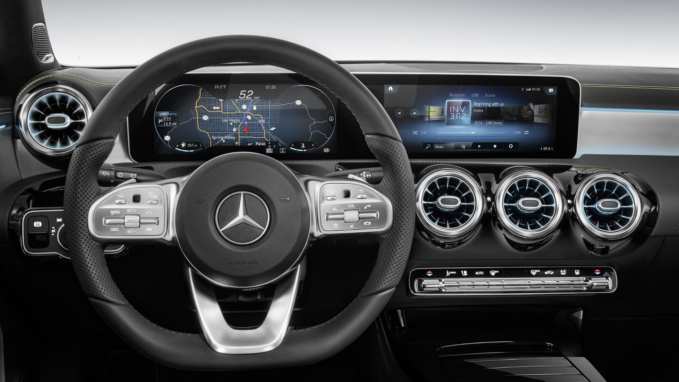 Mercedes-Benz Classe A — interior.