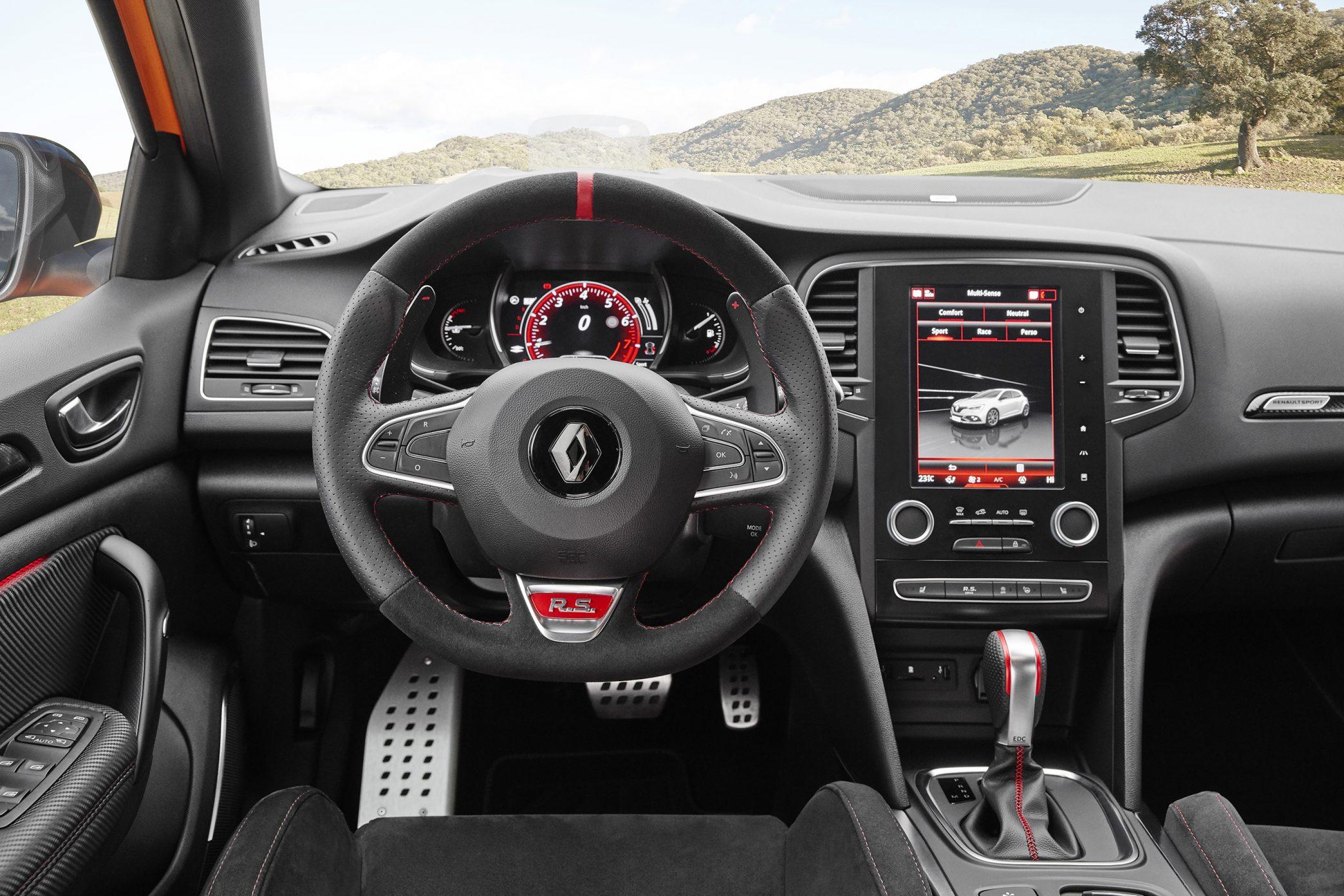 Renault Mégane RS — interior