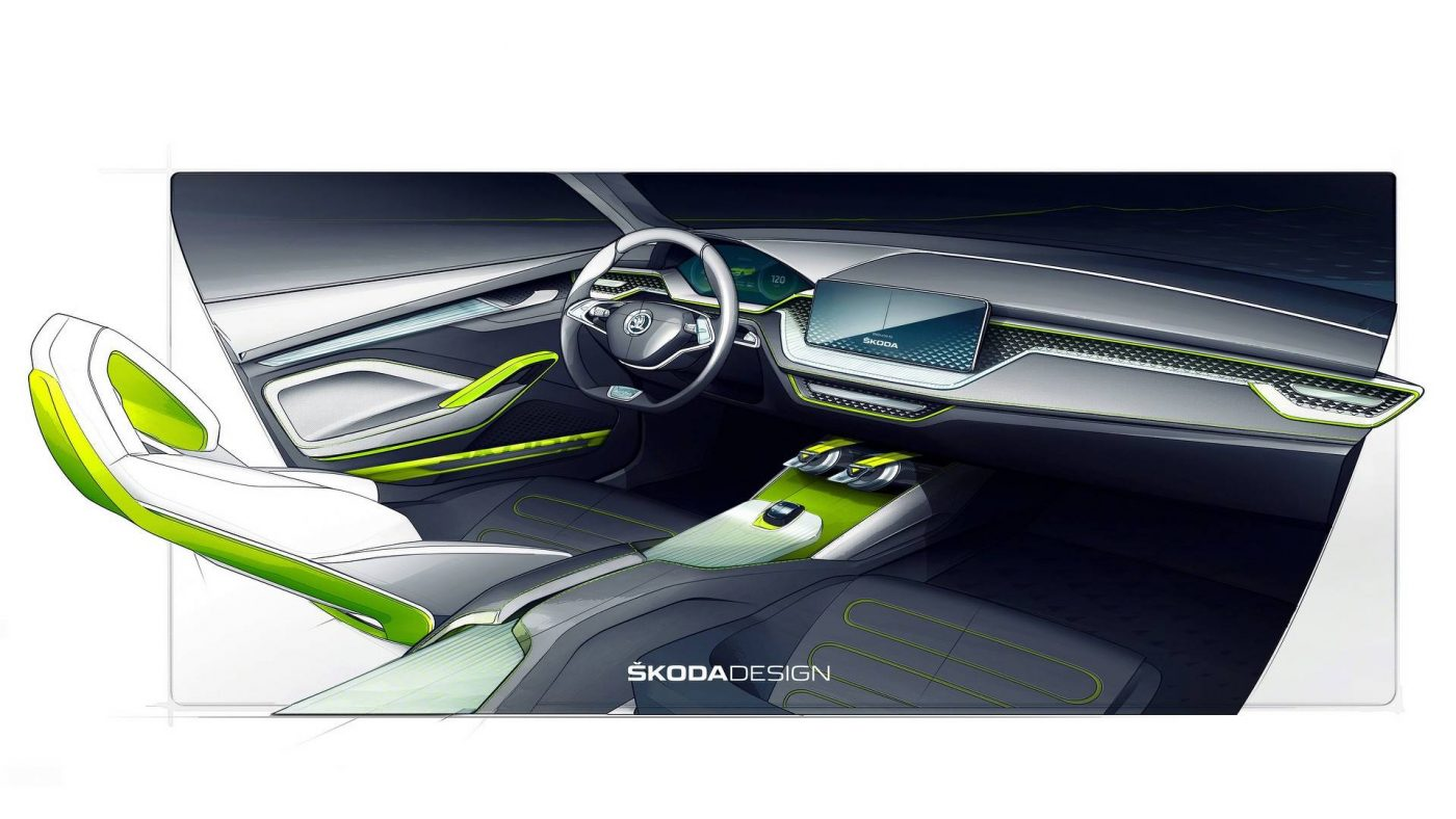 Skoda Vision X — interior