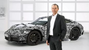 Porsche 992 oficial camuflado 2018