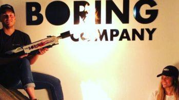 Lança-chamas, The Boring Company