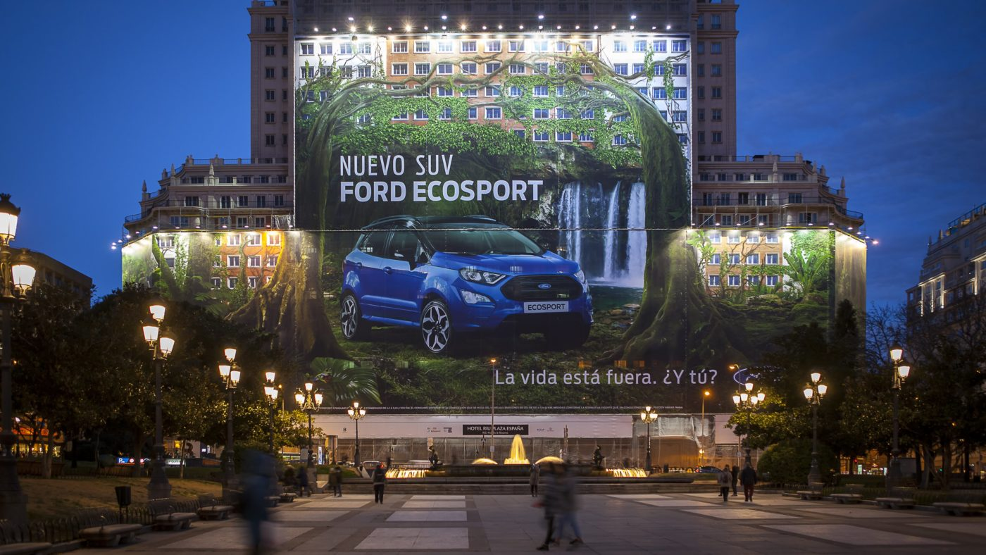 Ford EcoSport outdoor
