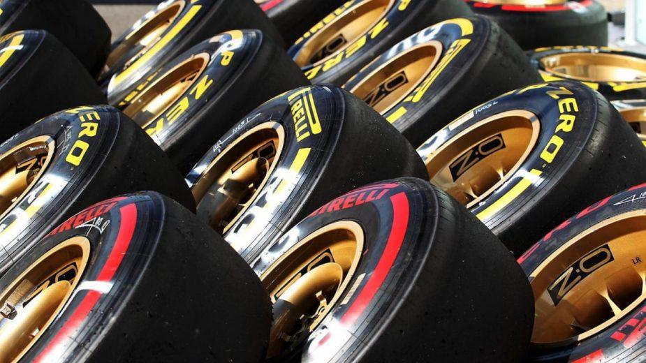 Fórmula 1 — azoto nos pneus