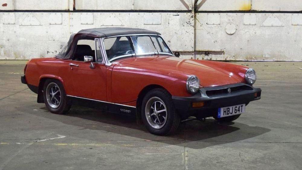 MG Midget 1500, 1979