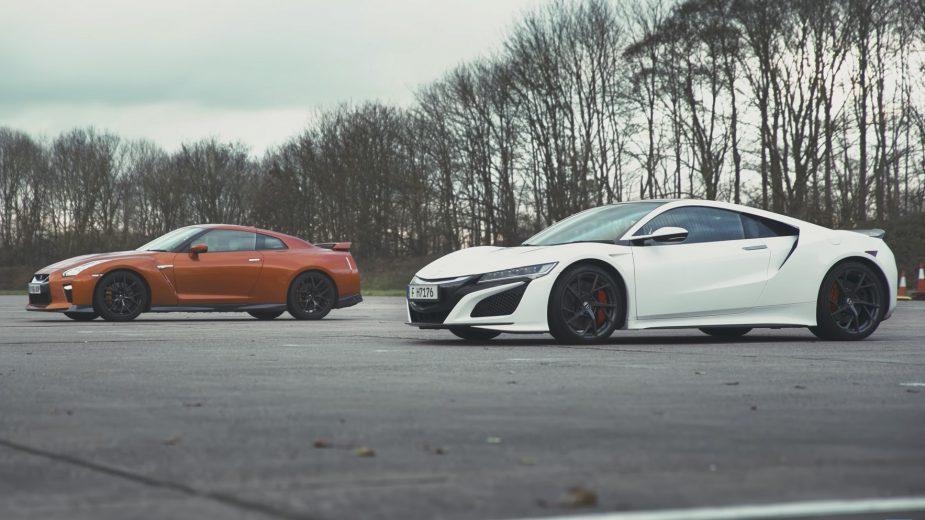 Nissan GT-R vs Honda NSX