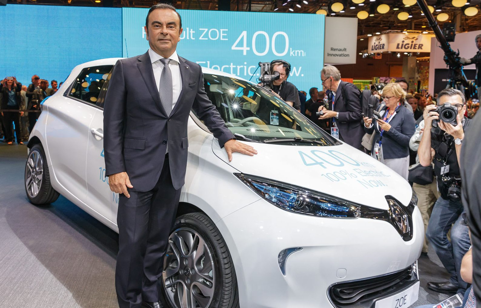 Carlos Ghosn, Renault ZOE