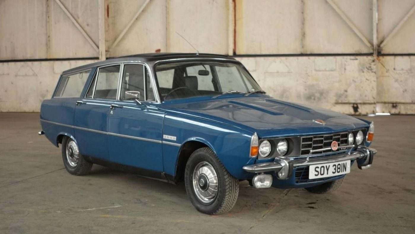 Rover P6 3500 Auto Estate 1974