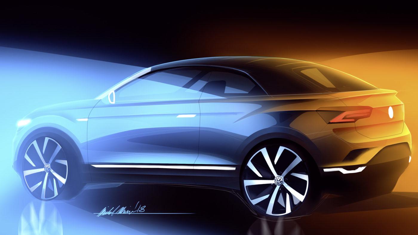 Volkswagen T-Roc ganha versão descapotável, mas será produzido na Alemanha