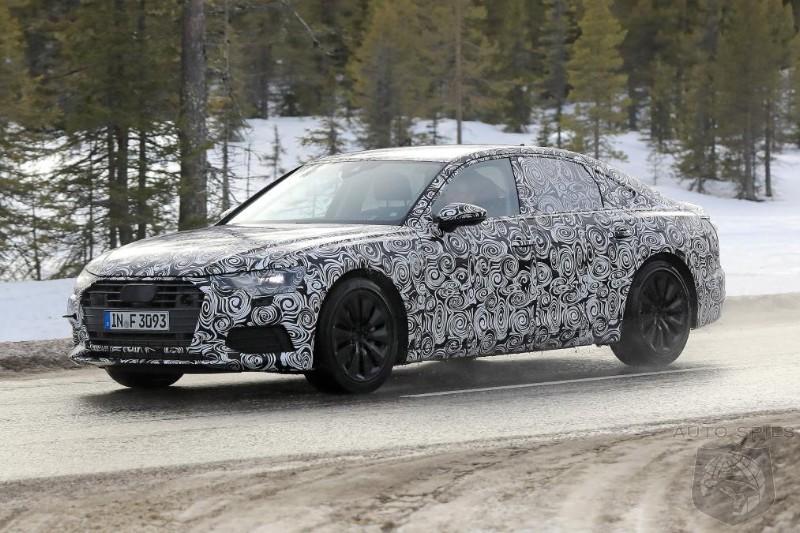 Audi A6 protótipo 2018