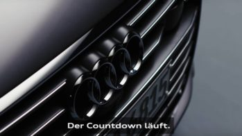 Audi A6 teaser 2018