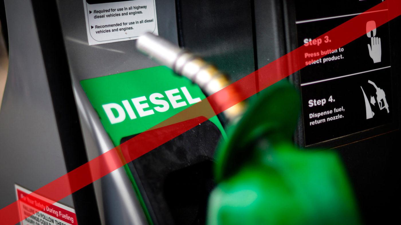Proibição diesel 2018