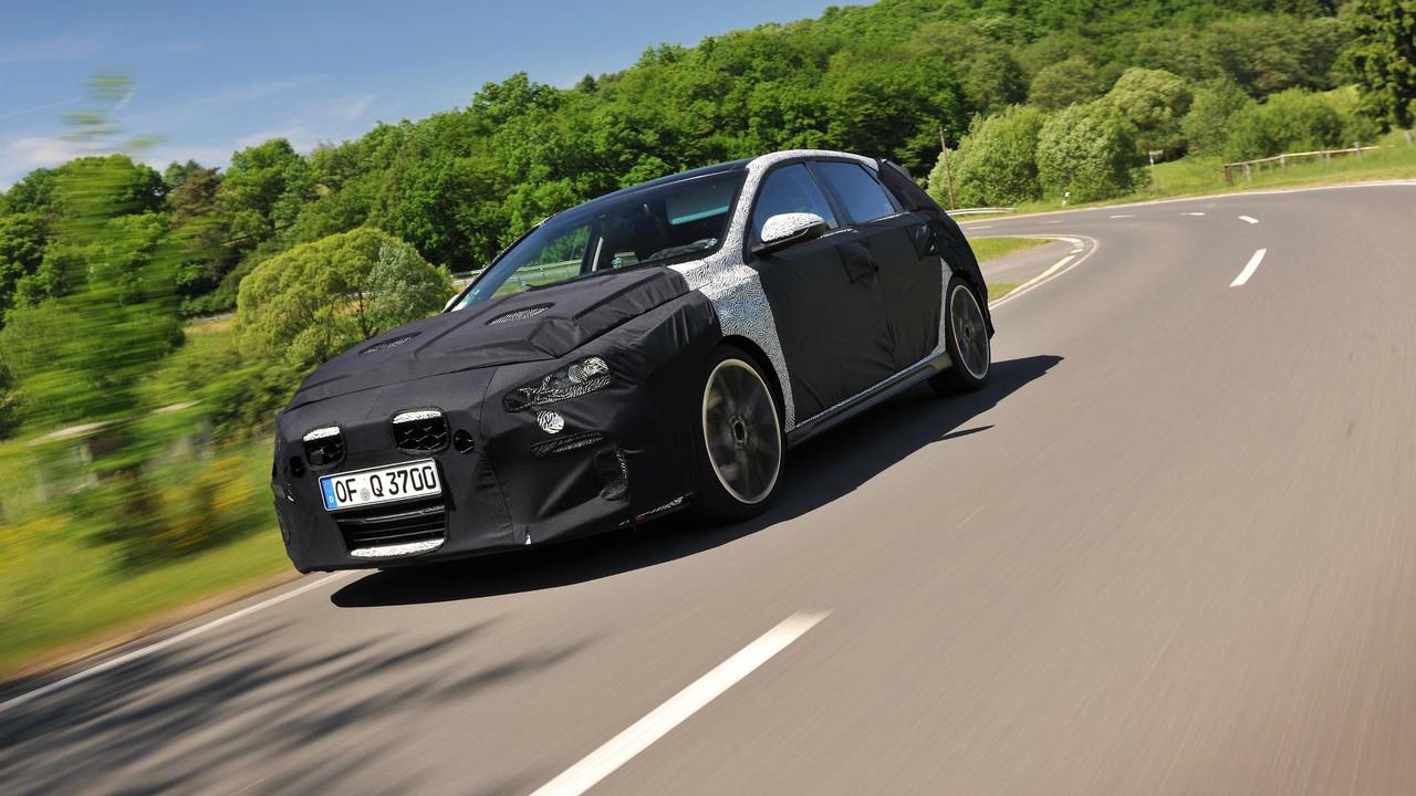 Hyundai i30 desvolvimento