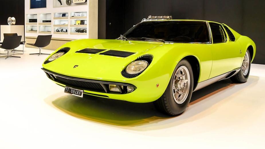 Lamborghini Miura, Rétromobile