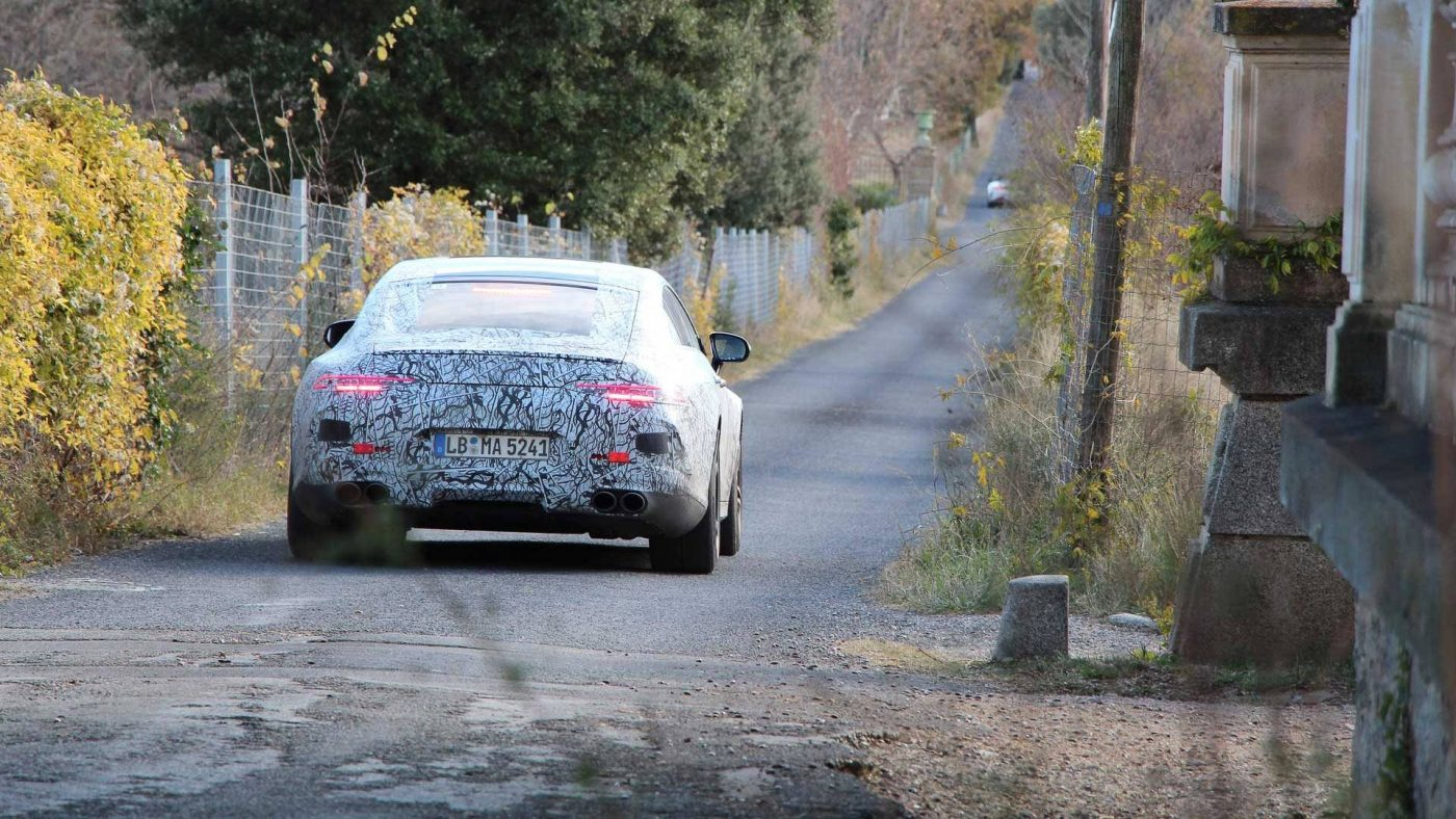 Mercedes-AMG GT Coupé teaser 2018