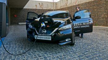 Nissan Leaf — Fórum Mobilidade Inteligente