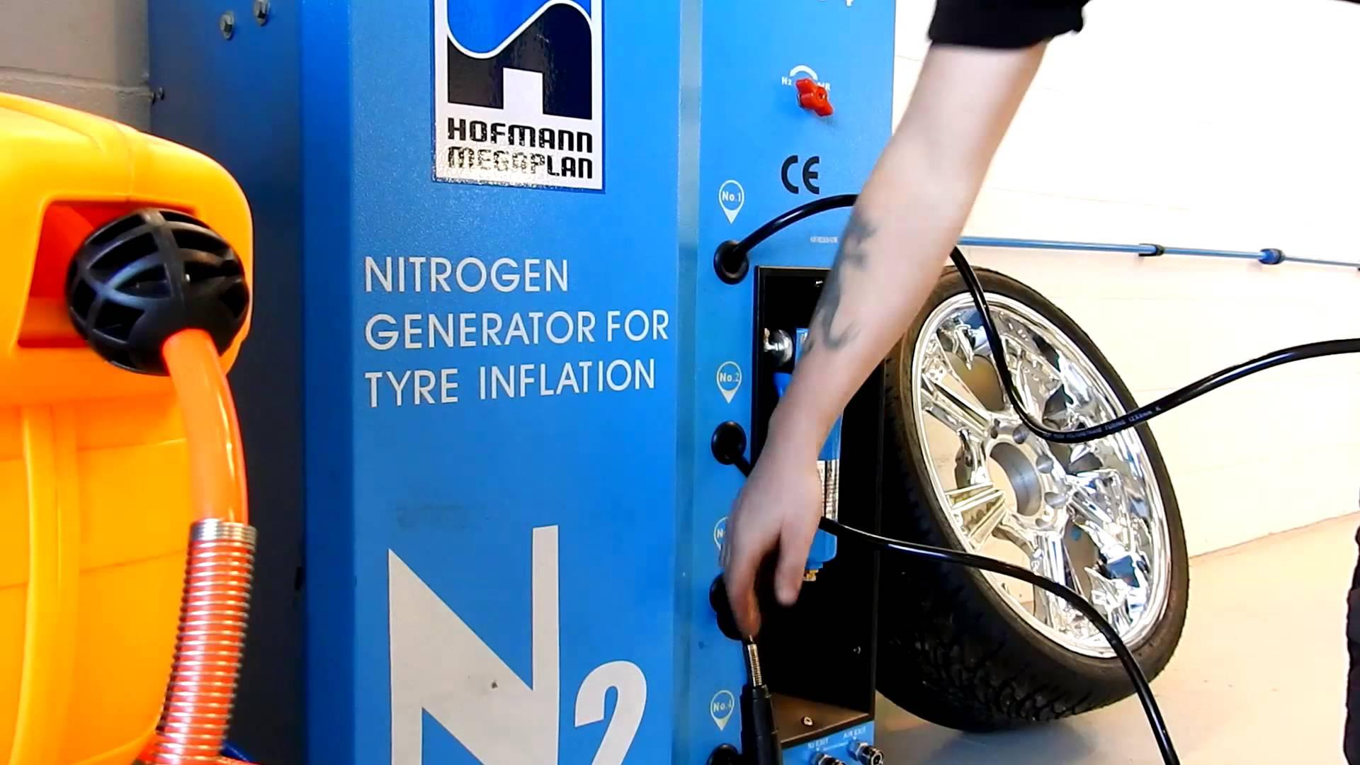 nitrogénio nos pneus