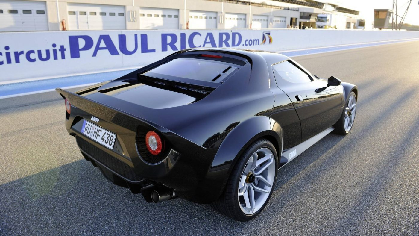 Novo Lancia Stratos, 2010