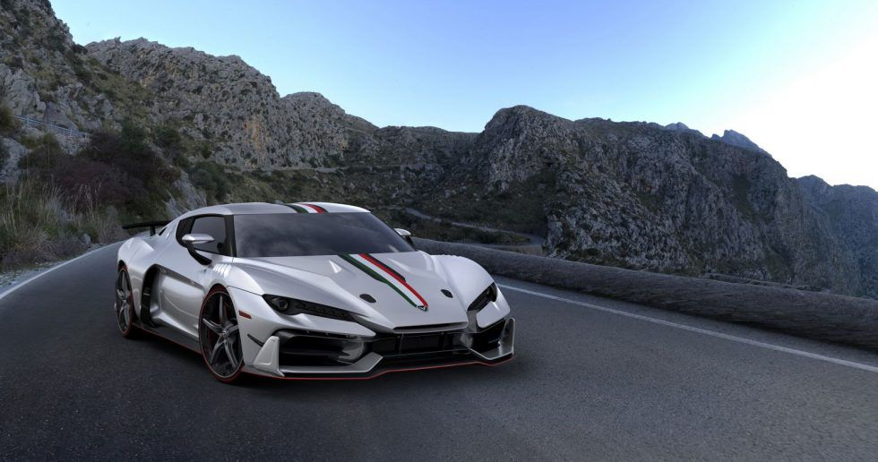 Italdesign Zerouno Coupe 2017