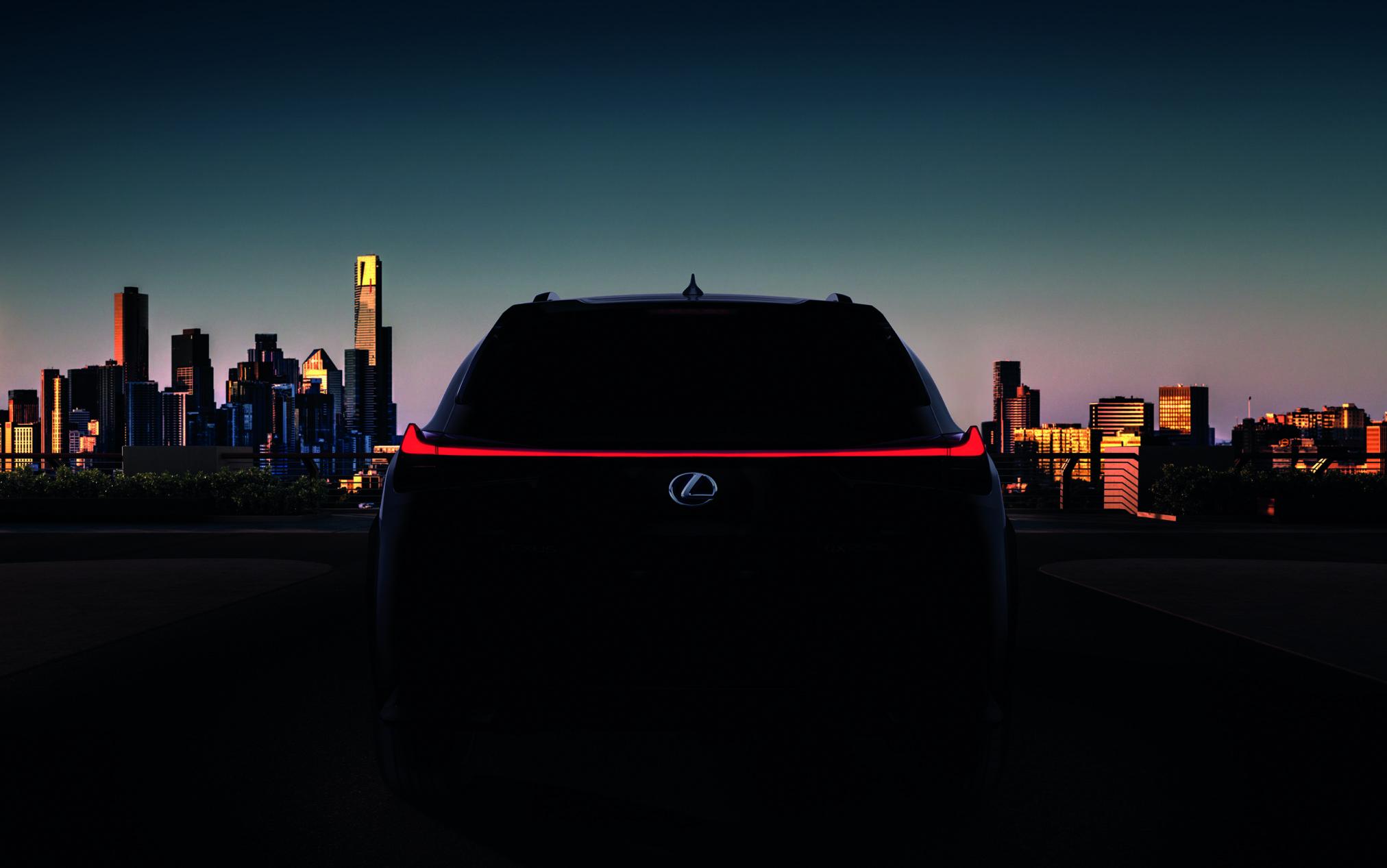 Lexus UX, 2018