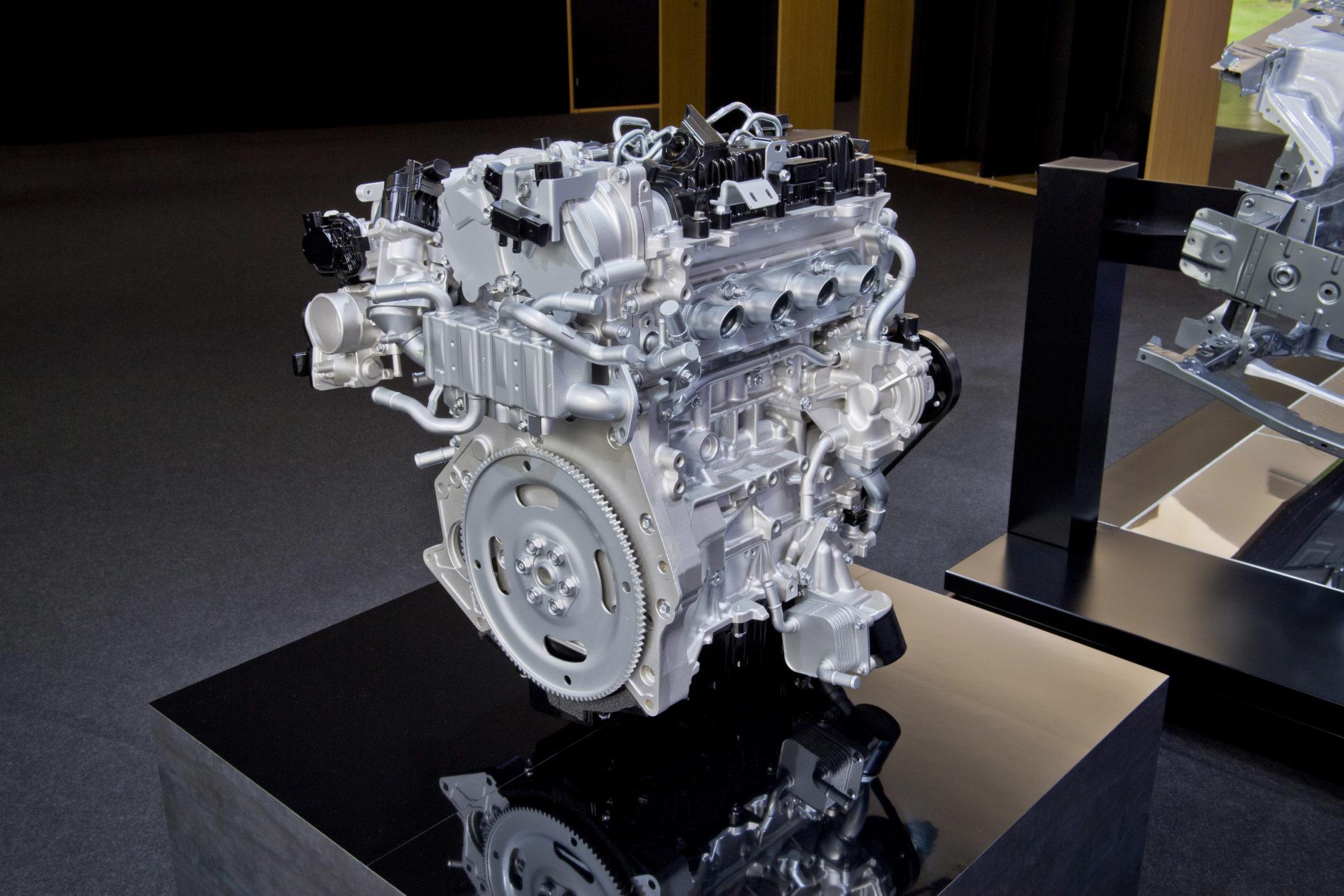SKYACTIV-X, o motor