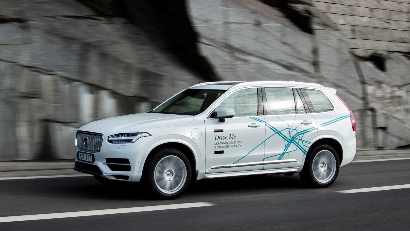 Volvo XC90 Condução Autónoma 2018
