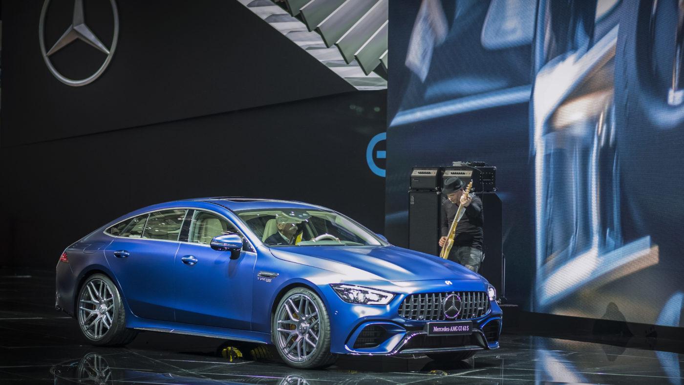 Mercedes-AMG GT Coupé 4 portas Genebra 2018