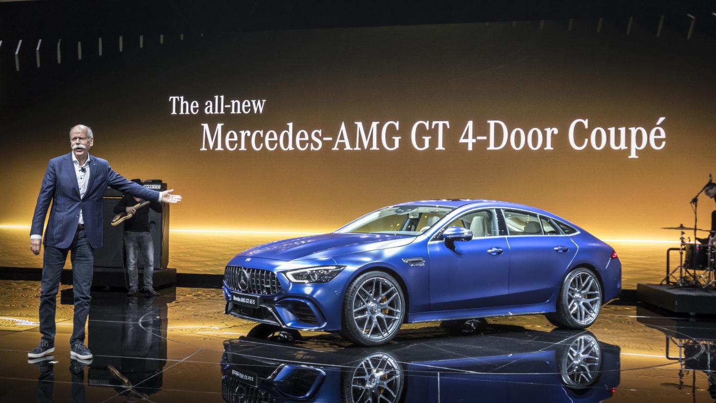 Mercedes-AMG GT Coupé quatro portas