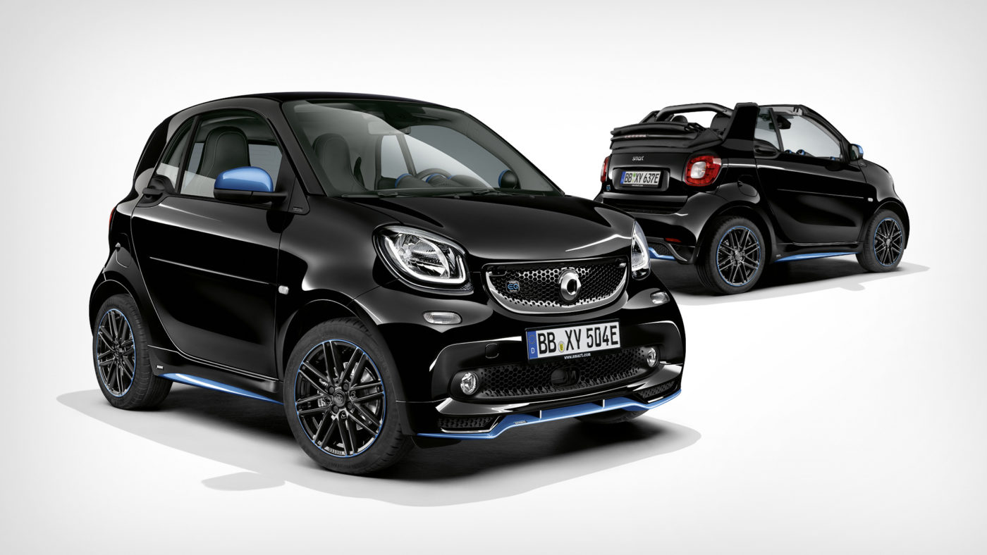 Smart EQ fortwo edition nightsky e Smart EQ fortwo Cabrio edition nightsky