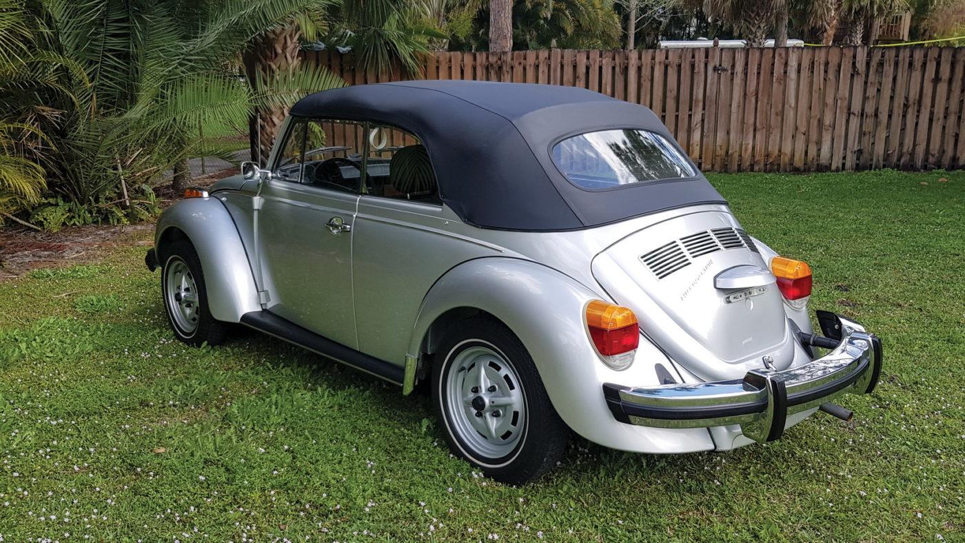 VW Beetle Cabriolet 1979