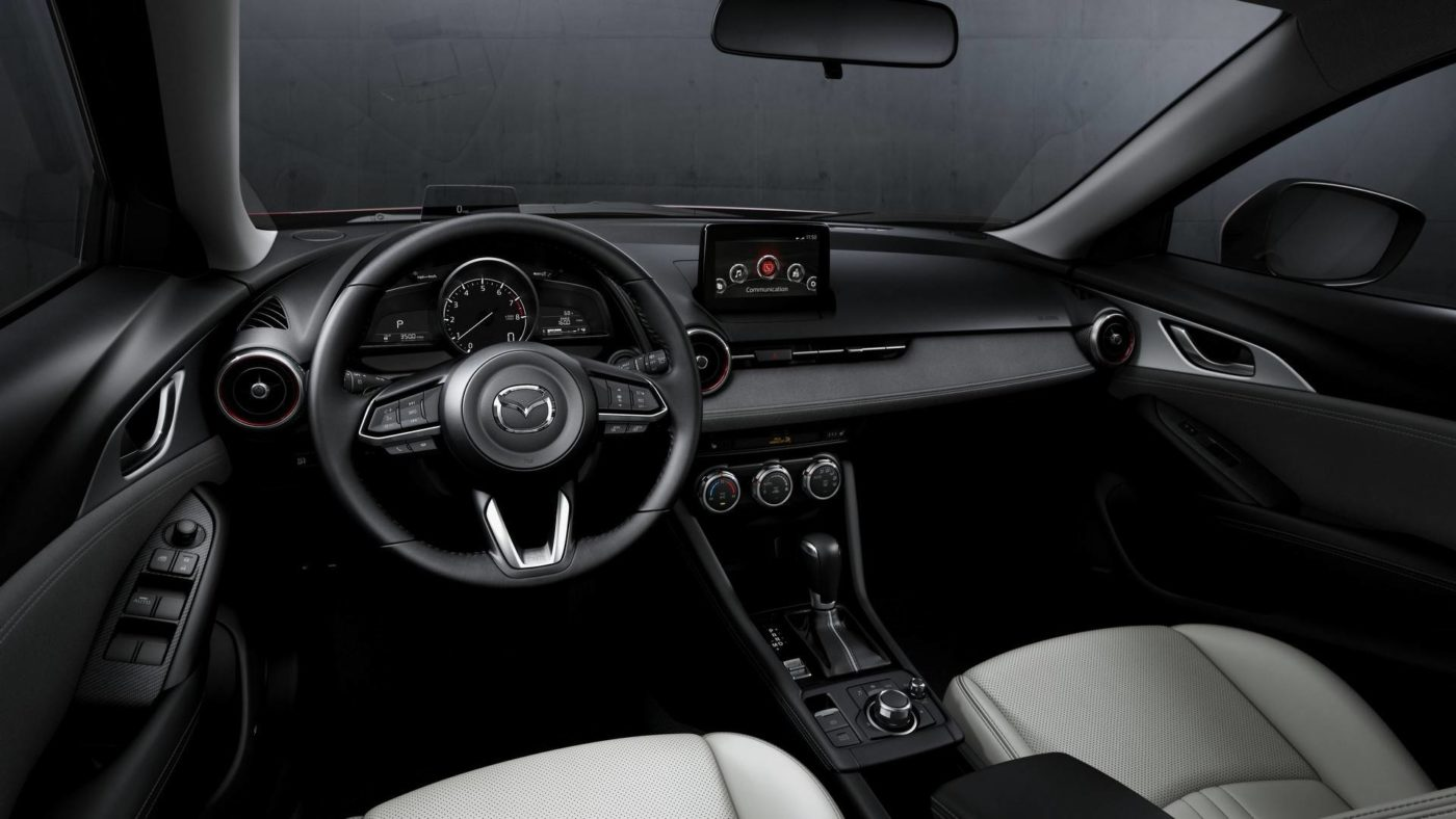 Mazda CX-3, interior