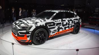 Audi e-tron Concept Genebra 2018