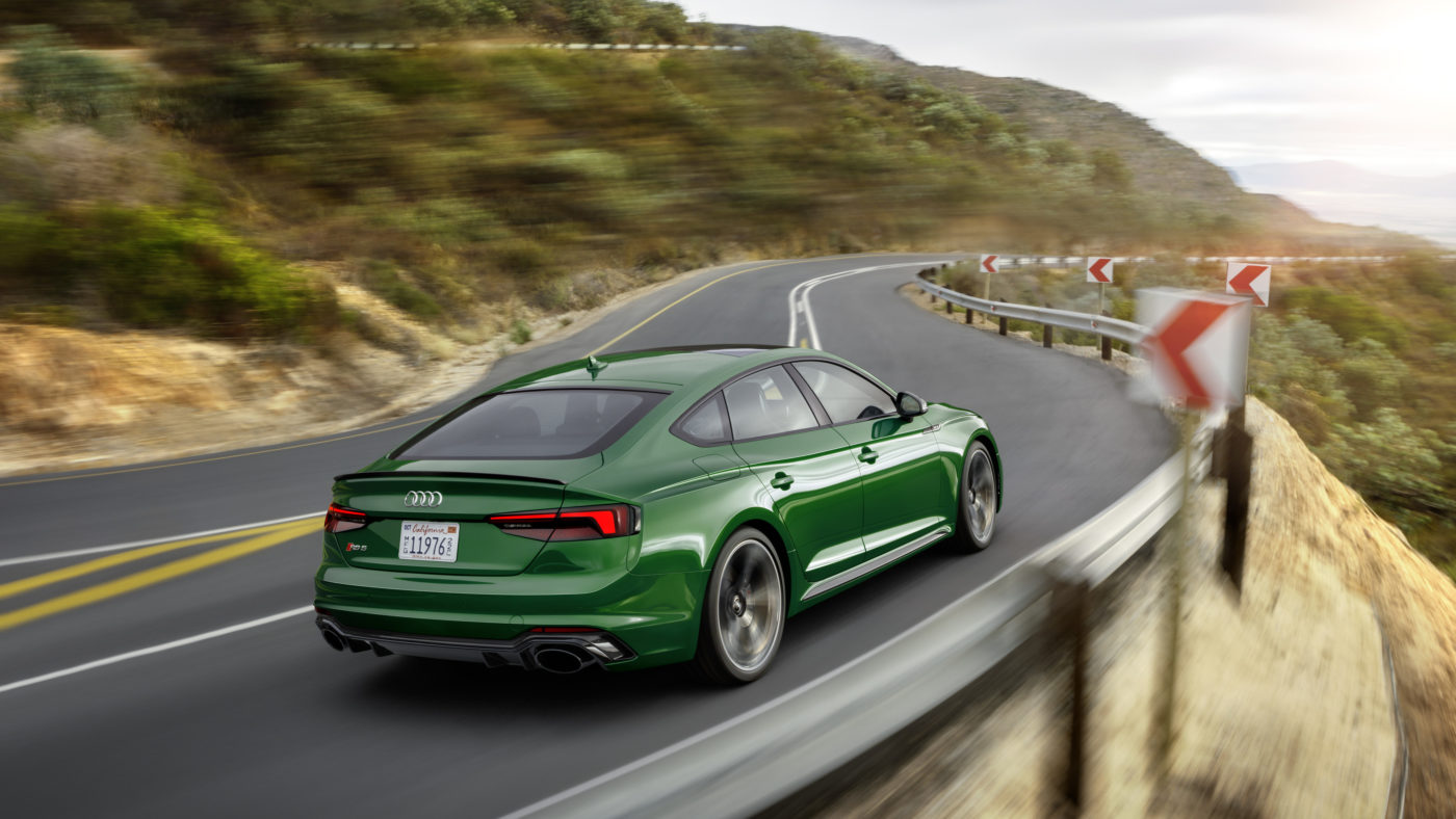 Audi RS 5 Sportback EUA 2018