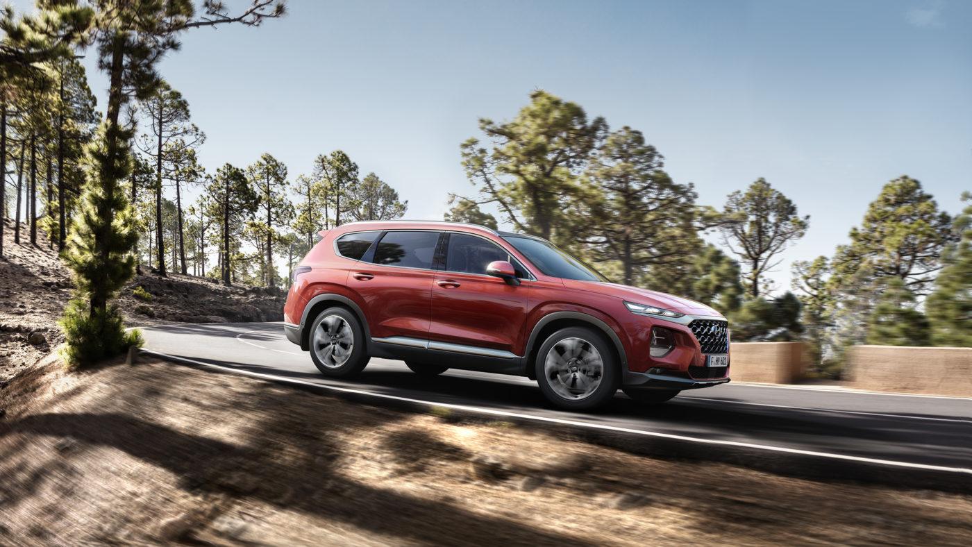 Hyundai Santa Fe Genebra 2018