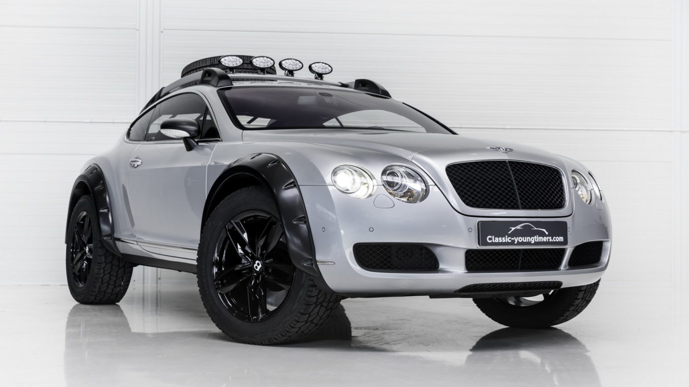 Bentley Continental GT offroad