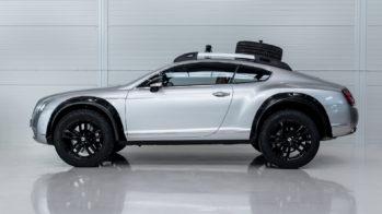 Bentley Continental GT offroad