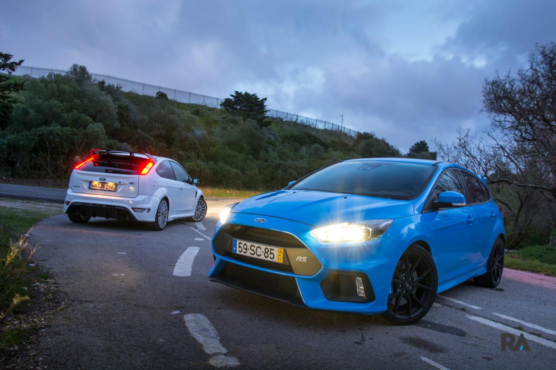 Ford Focus RS gerações