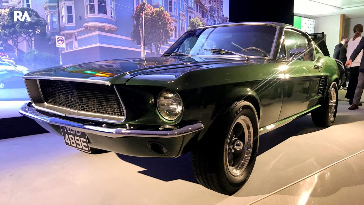 Ford Mustang bullit, original