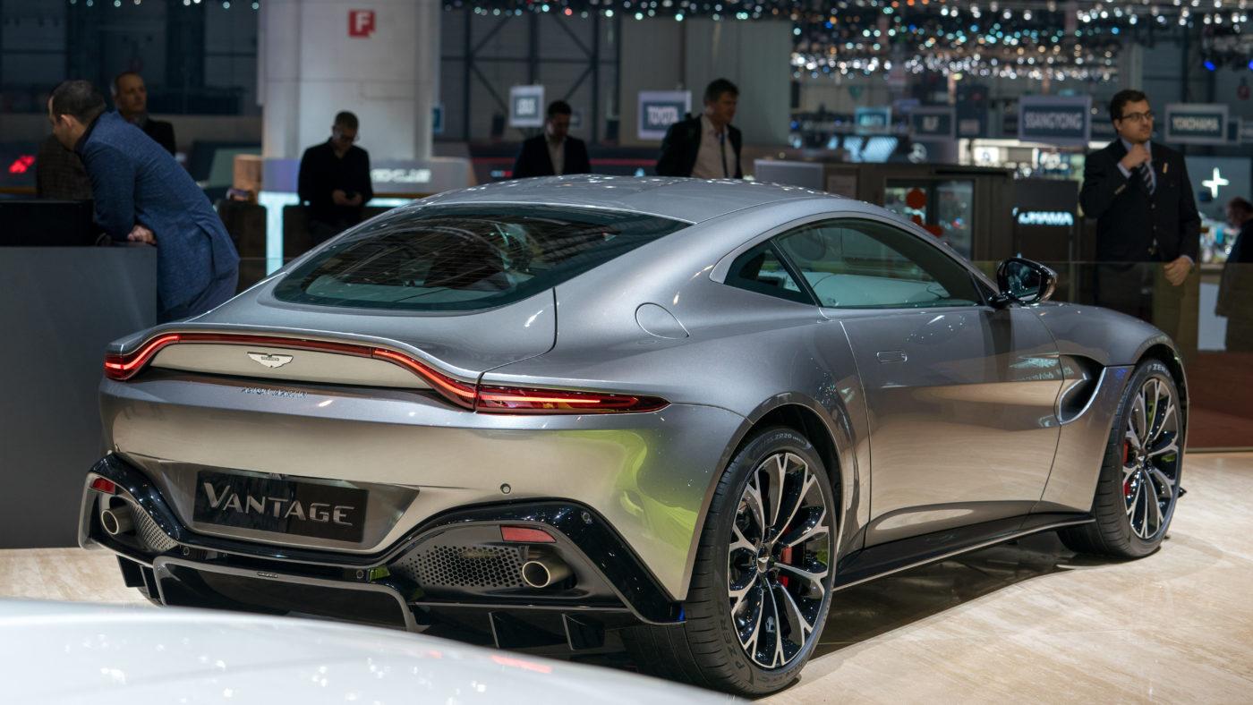 Aston Martin Vantage Genebra 2018