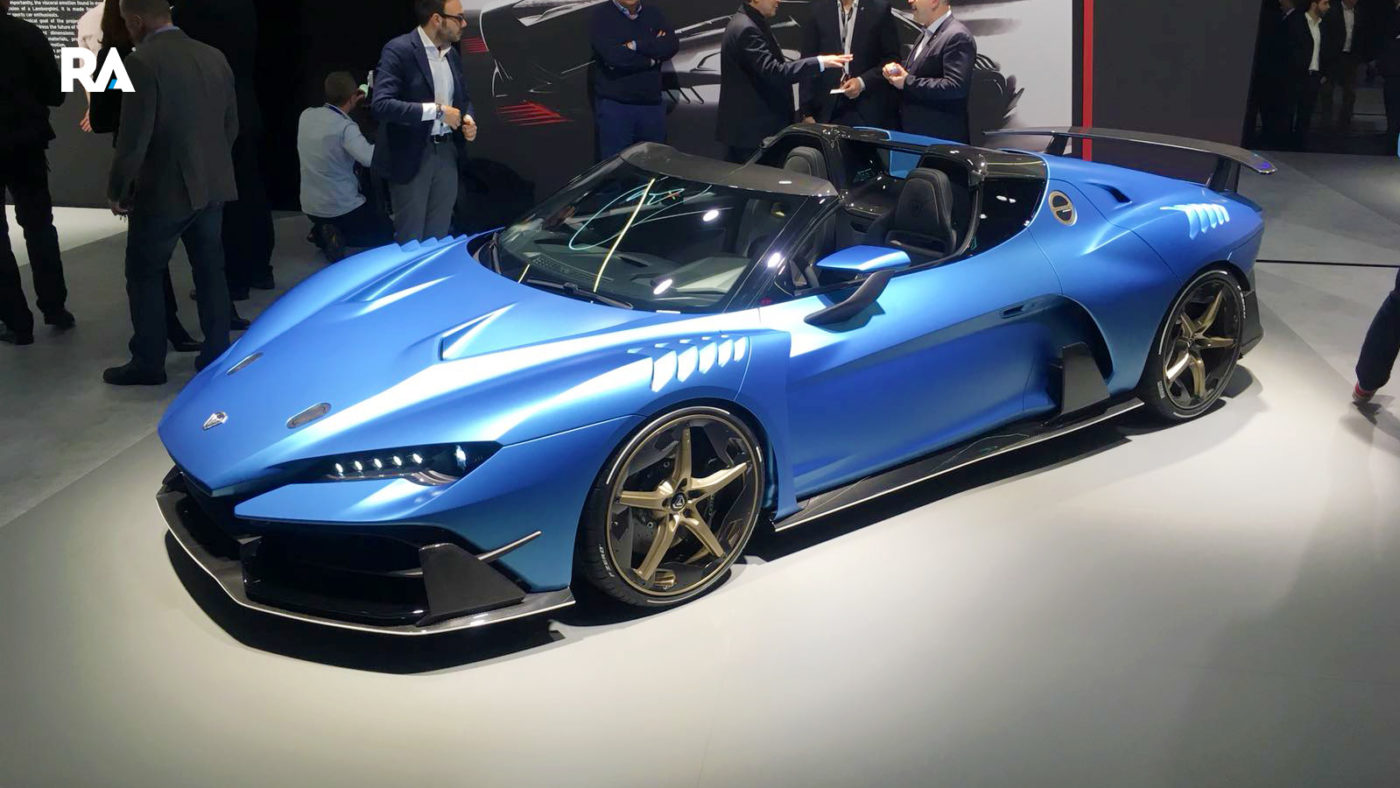 Italdesign Zerouno Roadster Genebra 2018