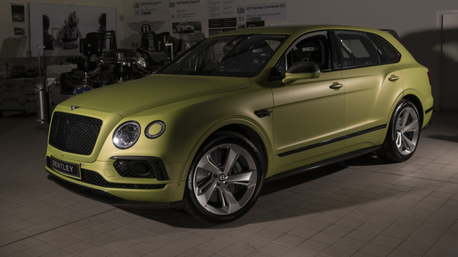 Bentley Bentayga W12 Pikes Peak 2018
