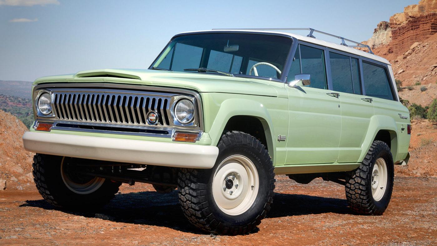 Jeep Wagoneer Roadtrip Concept 2018