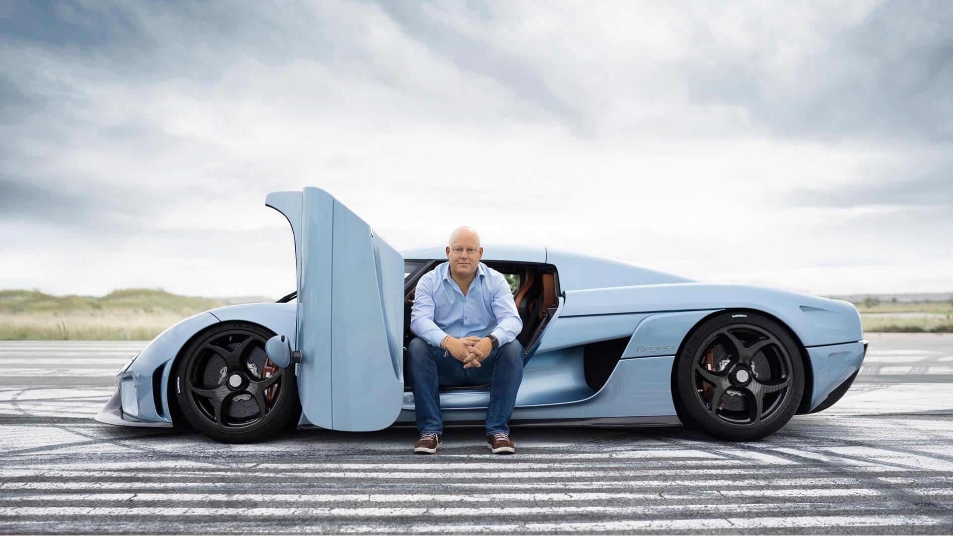 Christian von Koenigsegg e Koenigsegg Regera
