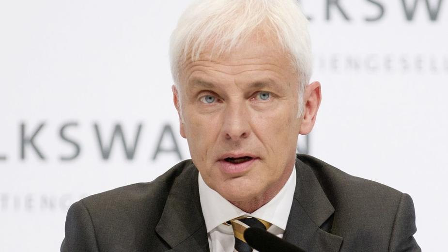 Matthias Müller CEO Volkswagen 2018