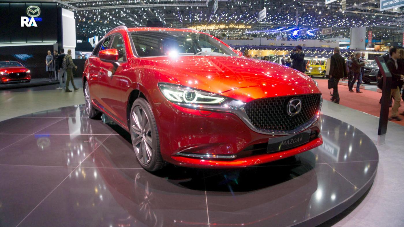 Mazda 6 Wagon Genebra 2018