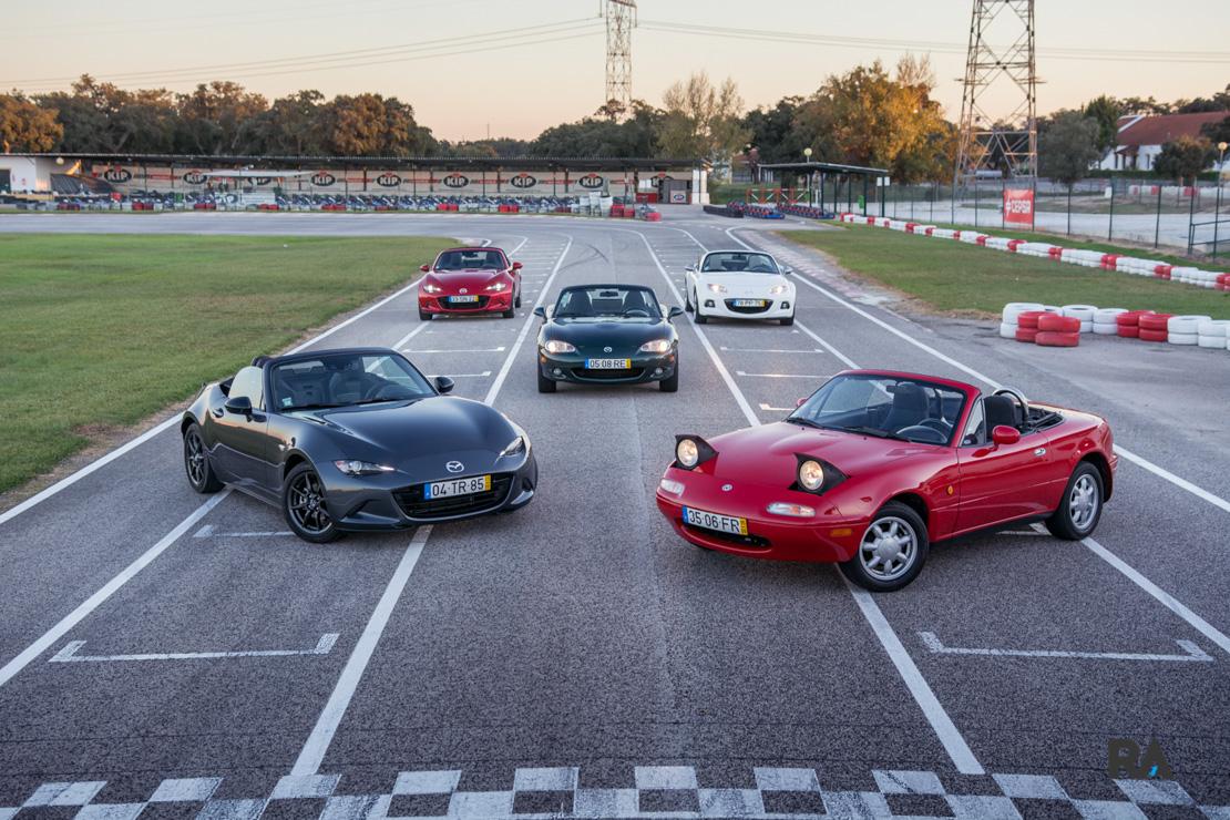 Mazda MX-5 gerações