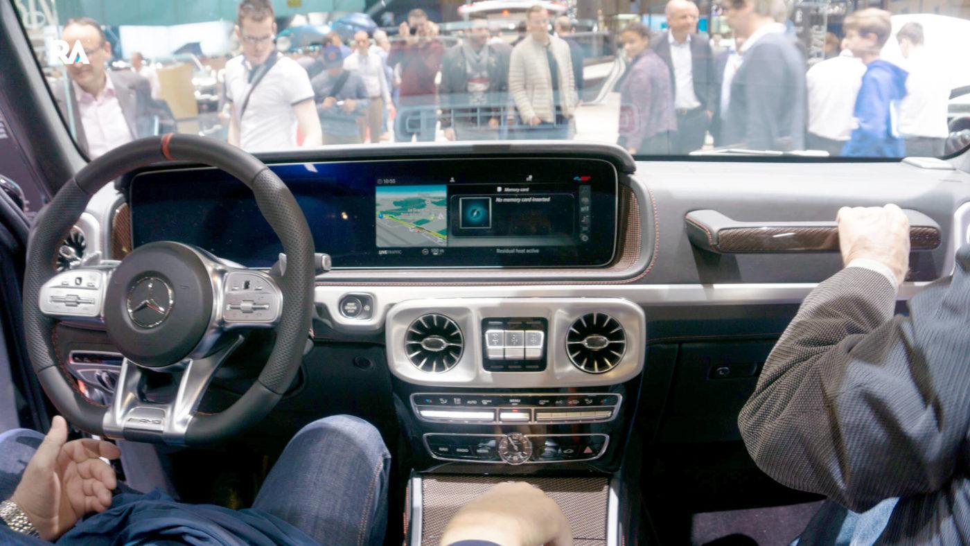 Mercedes-AMG G63 interior