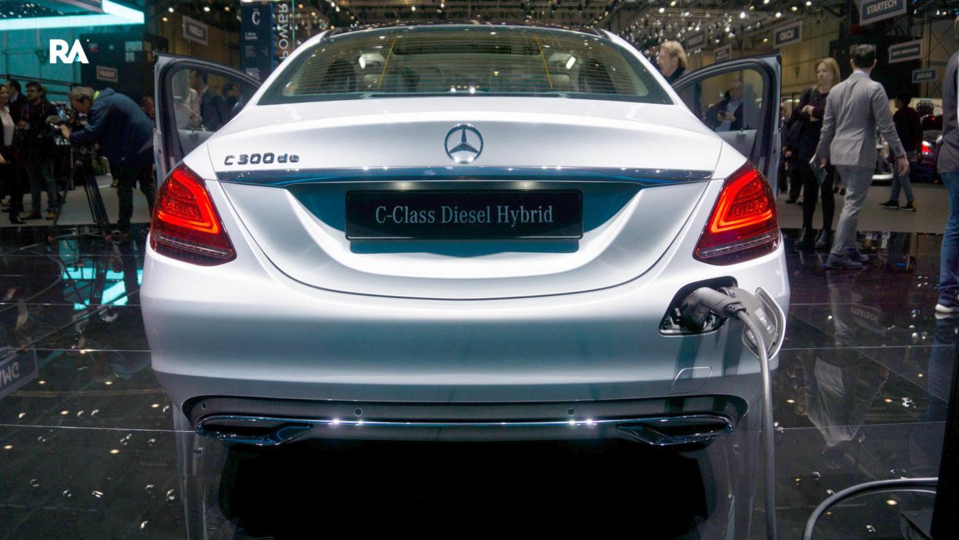 Mercedes-Benz Classe C hybrid genebra