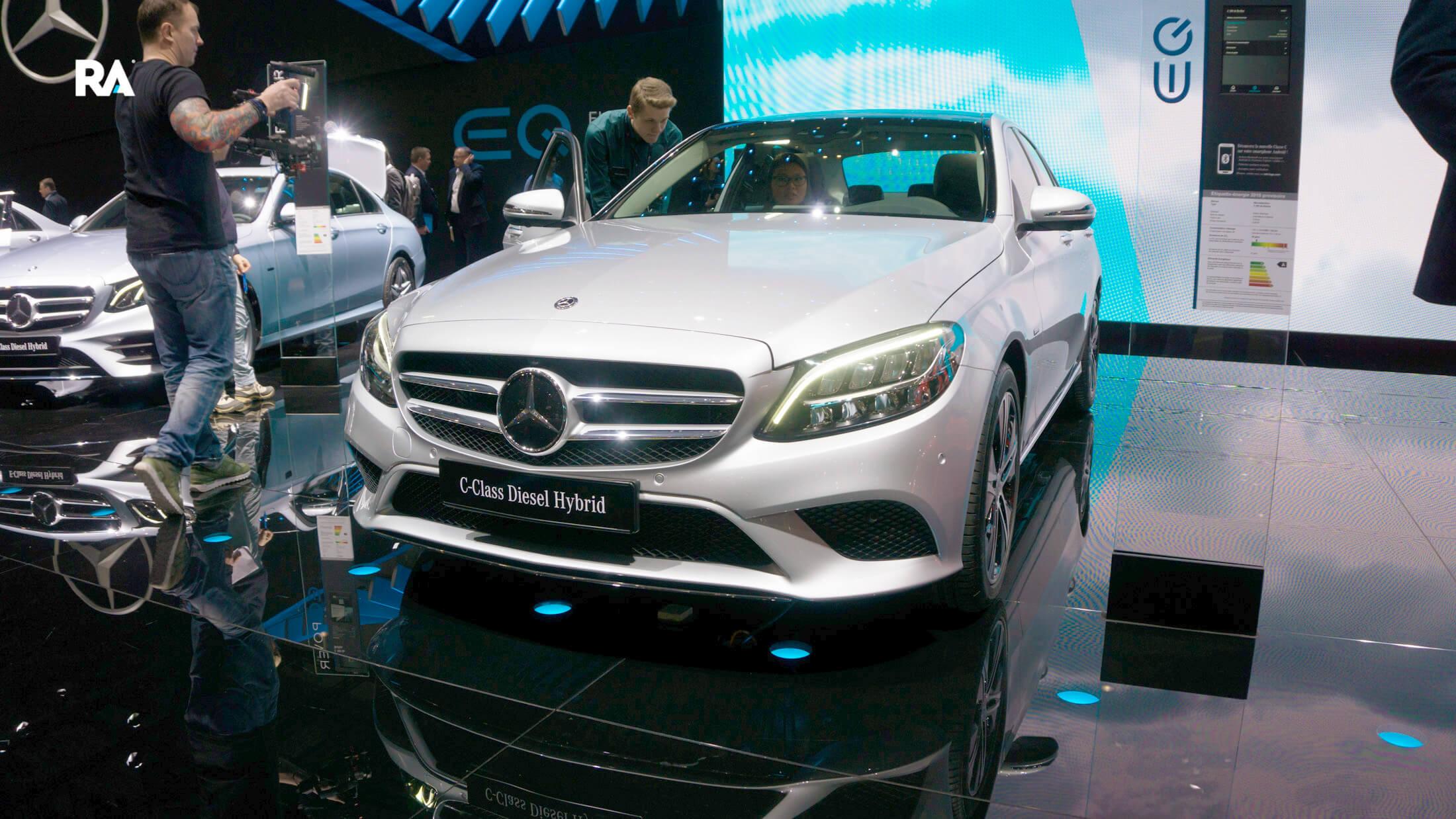 Mercedes-Benz C300 de Genebra 2018