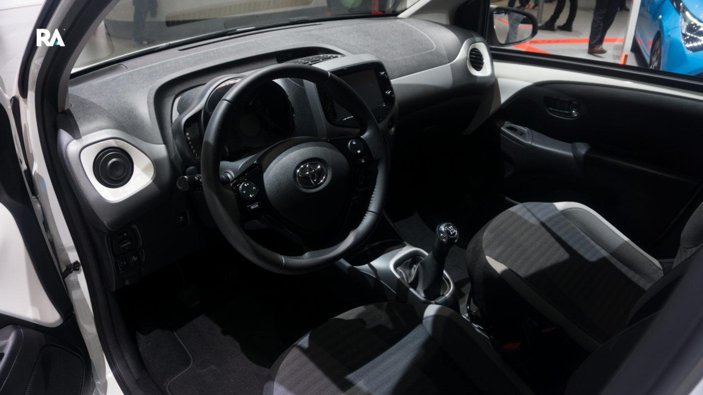 Toyota Aygo Genebra 2018