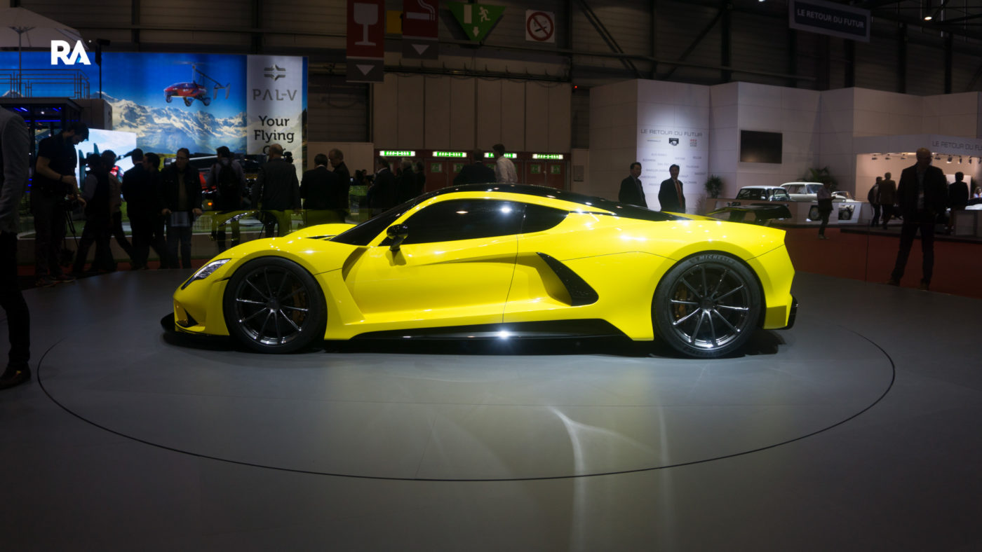 Hennessey Venom F5 Genebra 2018